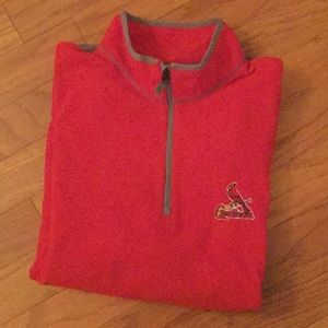⚾️ Very Nice St. Louis Cardinals Fleece Pullover.